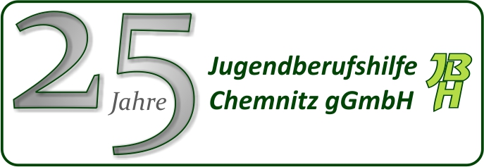 Logo 25 Jahre Jugendberufshilfe Chemnitz